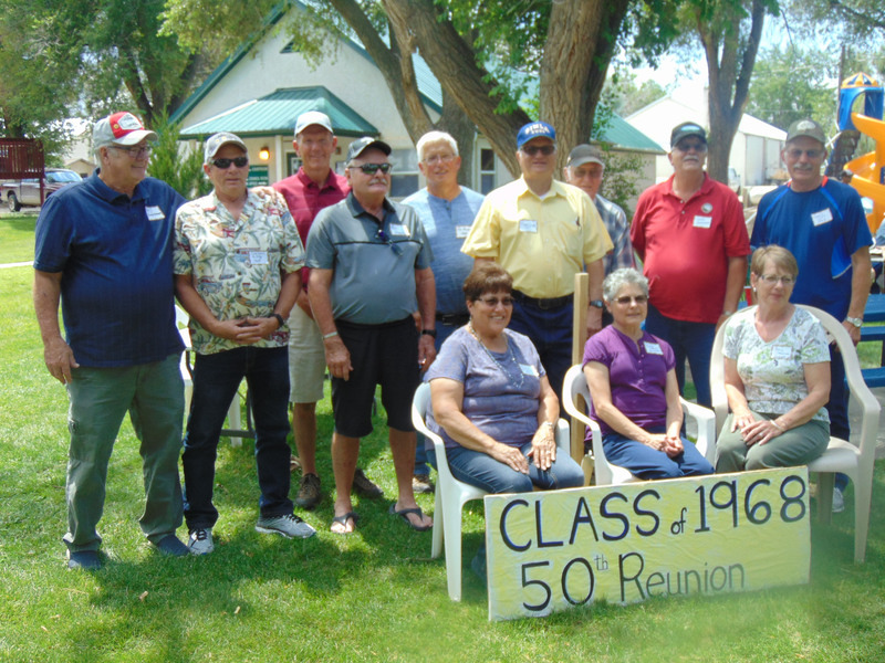 Picture of Class of 1968 50 year Reunion attendees